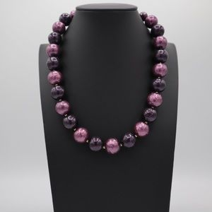 WHBM Purple necklace